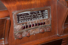 Vintage AM and FM Radio Stock Photos
