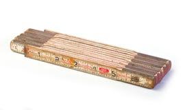 Vintage Fold up Ruler Stock Image