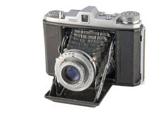 Vintage Folding Camera Stock Photography