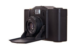 Vintage folding camera minox 35GT Royalty Free Stock Photography