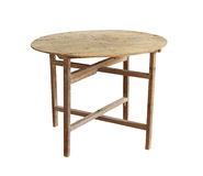 Vintage folding table Stock Images