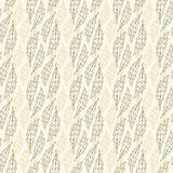 Vintage foliage pattern Stock Images