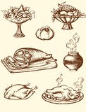 Vintage food Royalty Free Stock Photography