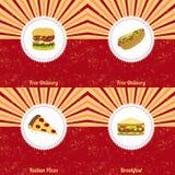 Vintage food theme Stock Image