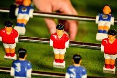 Vintage Foosball, Table Soccer or Football Kicker Game Royalty Free Stock Photo