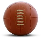 Vintage football ball Royalty Free Stock Photos