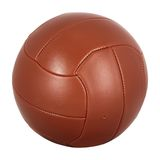 Vintage football ball Royalty Free Stock Photo
