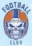 Vintage football club design Royalty Free Stock Photography