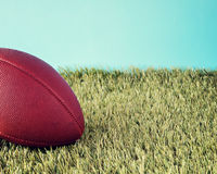 Vintage football Royalty Free Stock Photo
