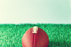 Vintage football Royalty Free Stock Image