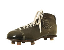 Vintage Football shoe Royalty Free Stock Images