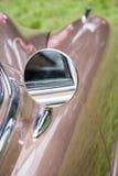 Vintage fora do espelho traseiro Fotos de Stock