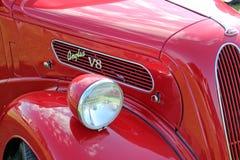 Vintage ford anglia v8 Stock Image