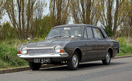 Vintage ford corsair Royalty Free Stock Image