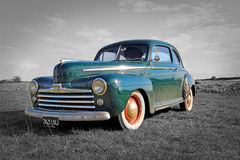 Vintage ford 48 coupe Stock Photography