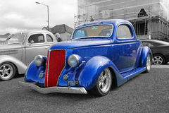 Vintage ford custom car Stock Image