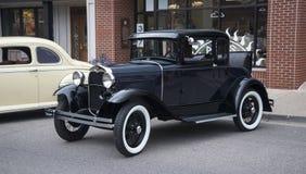 Vintage Ford Model un coupé Images libres de droits