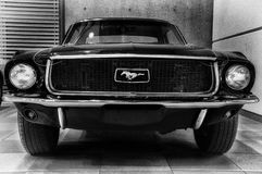 Vintage ford mustang 289 Stock Images