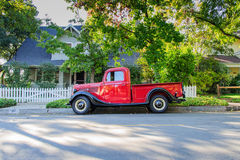 Vintage 1937 Ford Pickup Truck - side view Royalty Free Stock Photo