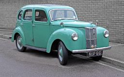 Vintage ford prefect car Stock Image