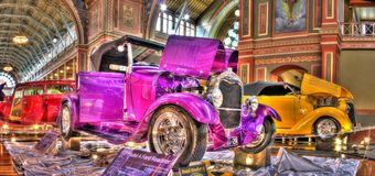 Vintage Ford Roadster Model 1929 A Photographie stock