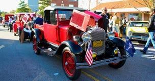 Vintage Ford Truck chez le Rockabillaque 2015, Charleston du nord, Sc Photographie stock libre de droits