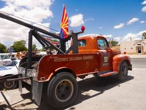 Vintage Ford Truck, Route 66, Seligman AZ images libres de droits