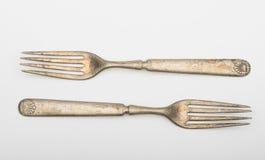 Vintage forks Stock Image