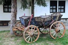 Vintage Four-wheeled Cart Royalty Free Stock Photos