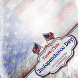 Vintage Fourth of July Independence Day Royalty Free Stock Images