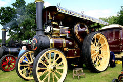 Vintage 1911 Fowler B6 road steam loco. Stock Photo
