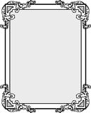 Vintage frame_1. Vintage frame with a place for your text Royalty Free Stock Image