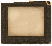 Vintage Frame 1. Antique card picture frame with blank photograph vector illustration