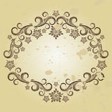 Vintage frame. Vector illustration for your design Royalty Free Stock Photography