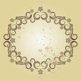 Vintage frame. Illustration for your design Stock Photos