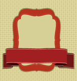 Vintage frame. Royalty Free Stock Photos