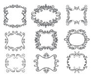 Vintage frame. Royalty Free Stock Photography