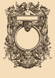 Vintage Frame 21 stock illustration