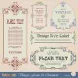 Vintage frame stock illustration