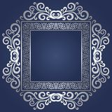 Vintage frame. Abstract ornamental background Royalty Free Stock Photos
