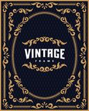 Vintage frame 004 Royalty Free Stock Photography
