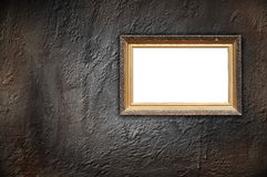 Vintage Frame on Concrete Wall Stock Photos