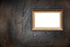 Vintage Frame on Concrete Wall Stock Photos