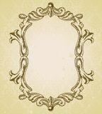 Vintage frame with copy space for text Stock Photography
