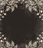 Vintage frame on dark backdrop Royalty Free Stock Image