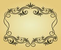Vintage frame for design Royalty Free Stock Images