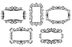 Vintage frame for design Stock Photos