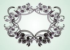 Vintage frame for design Stock Photography