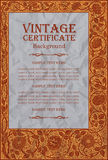 Vintage frame design: art nouveau Royalty Free Stock Images