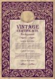 Vintage frame design: art nouveau Stock Photography